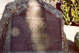 George C. Yount gravesite